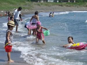 14海水浴