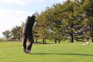 ゴルフ開場