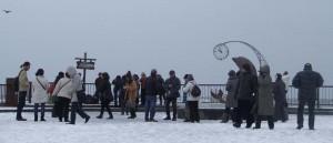 冬季観光雪