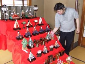 瀬戸邸の雛人形