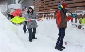 地域の除雪