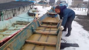 16ナマコ漁準備