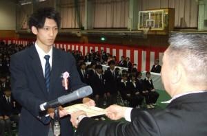 稚高の卒業式